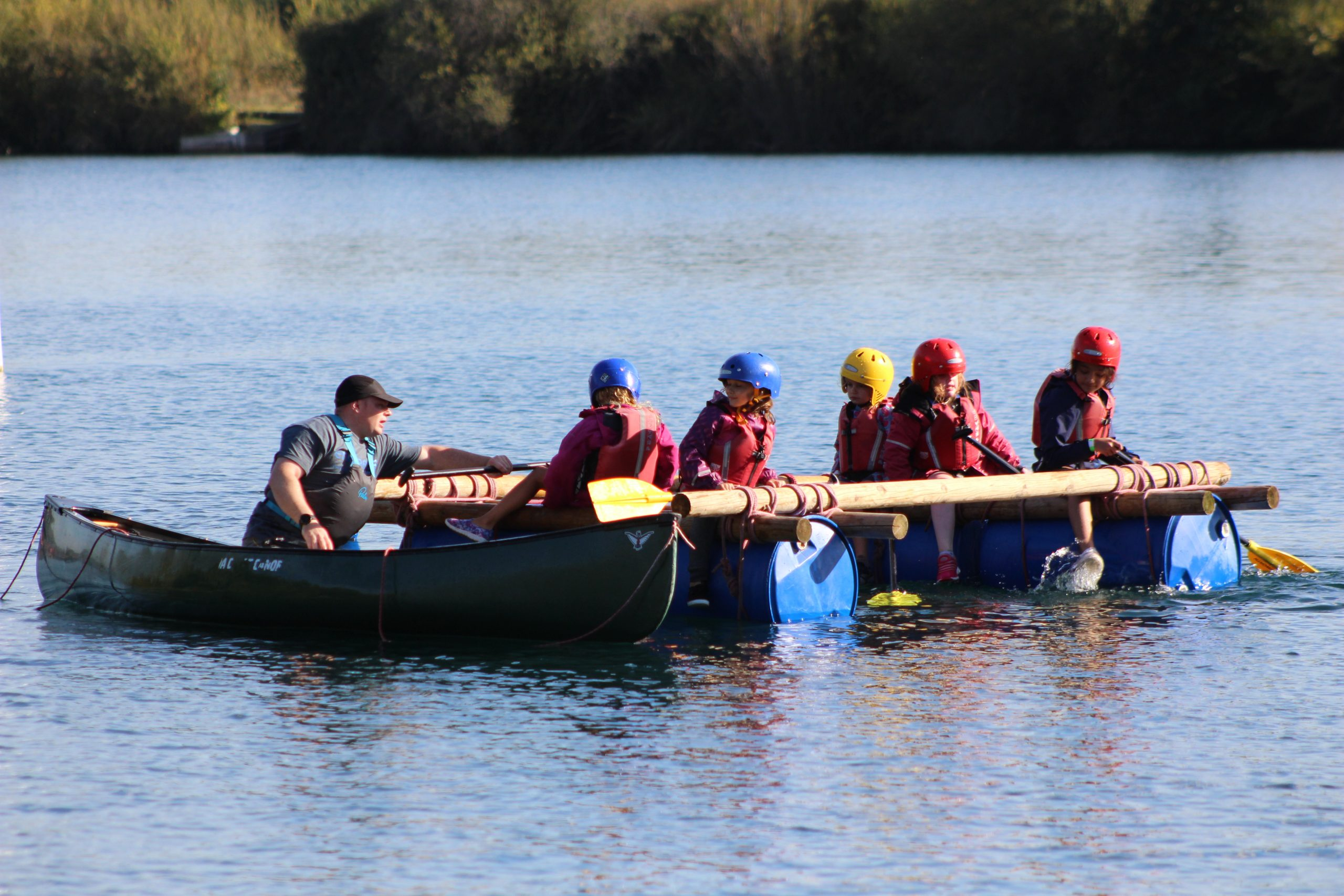 Slough District Beaver Sleepover and Water Day